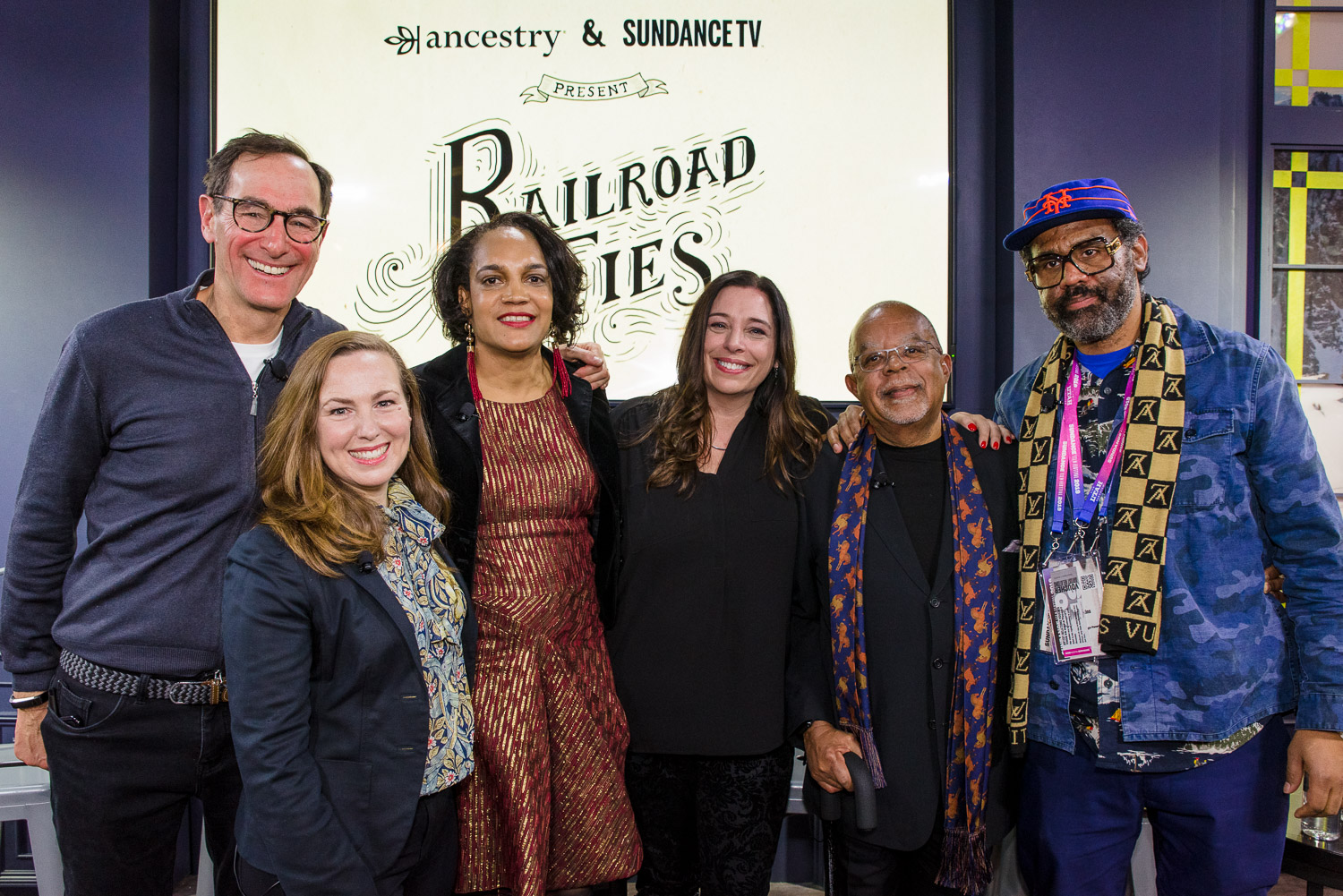 Railroad Ties panel at Sundance